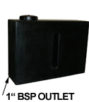 Ecosure 280 Litre Baffled Water Tank Upright